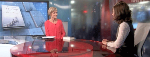 Intervju med Victoria Hislop: NRK Morgennytt