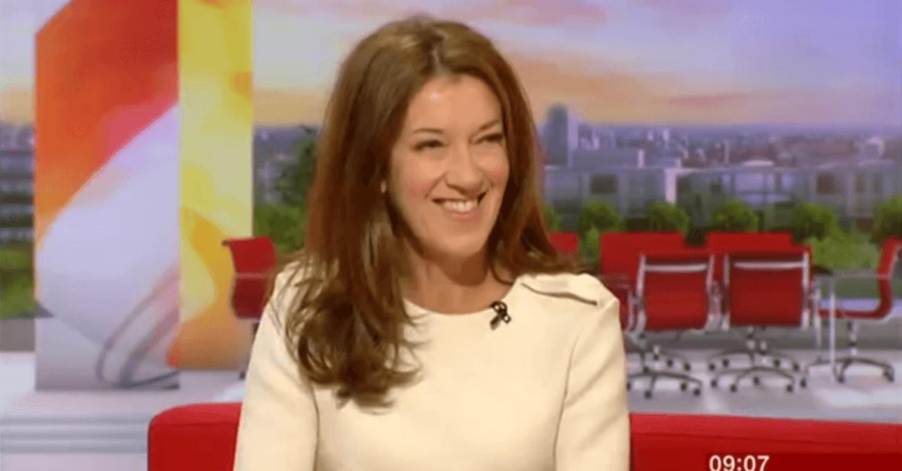 Victoria Hislop on BBC Breakfast