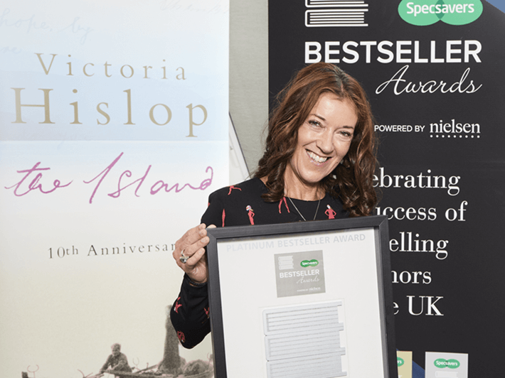 Hislop awarded four Specsavers Bestseller awards